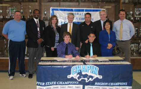 Soccer seniors sign with Spartanburg Methodist College