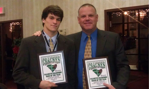 Coach Gentry and Carter White win state honors
