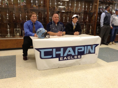 Carter White and Kolt Doss Signing