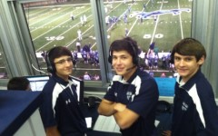 Sports Broadcasting Team Calling the Plays