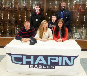 Eight Chapin Athletes Sign on National Signing Day