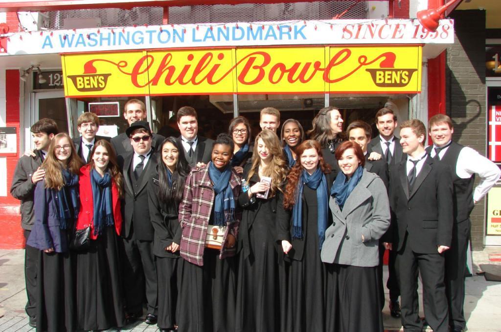 CHS Chamber Choir visits D.C.