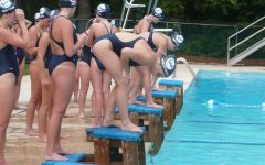 Swimming at Augusta Invitational