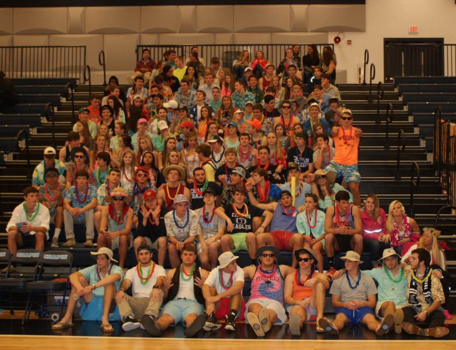 The Chapin Crazies add to the atmosphere of an exciting home game.