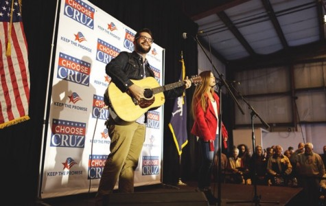 Chapin Senior performs at Cruz Rally