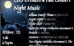 Orchestra's Spooky Symphony