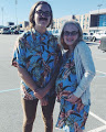 Abby Lawson and Logan Hines on Mom and Dad Day