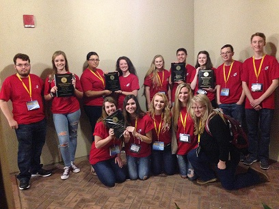 Chapin Beta Club places at the State Convention