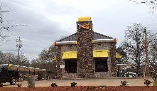 Sonic in Chapin is almost ready to open.