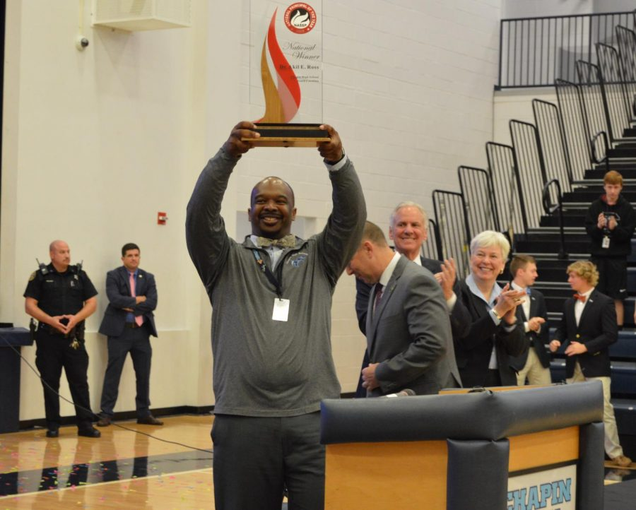 Dr. Ross Honored as National Principal of The Year
