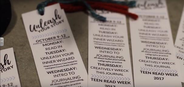 CHS Celebrates Teen Reading Week
