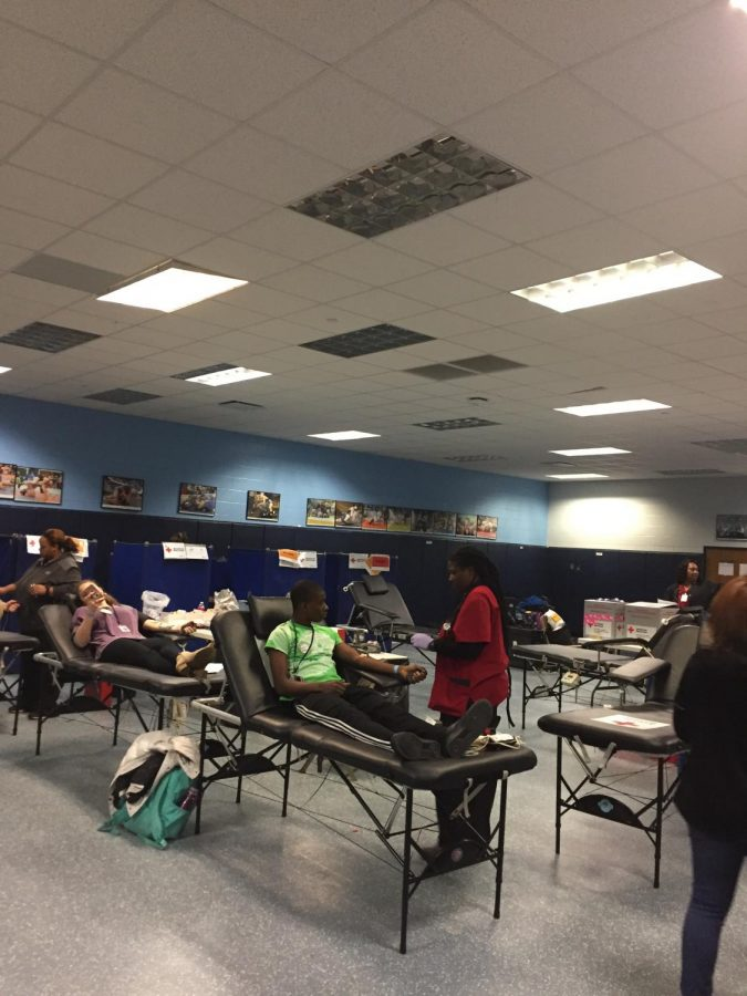 The Blood Drive at Chapin High School