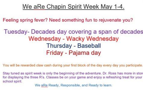 Sentimental Seniors for Spirit Week