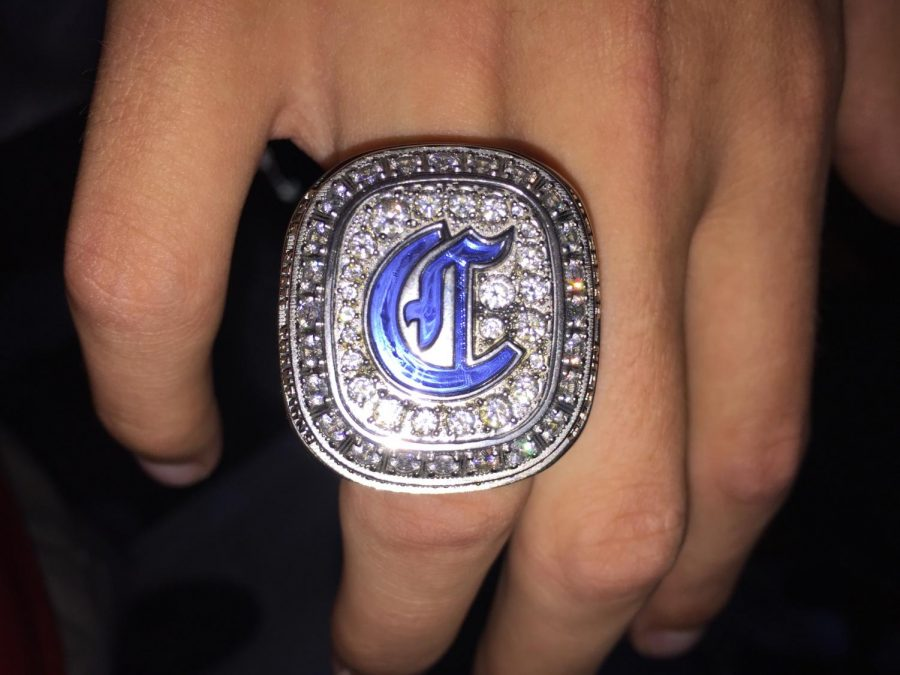 The ring that the baseball players received