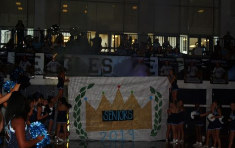 Scenes from The First Pep Rally of the Year