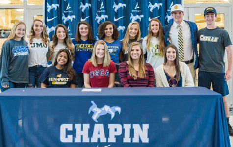 Chapin Athletes Signing On