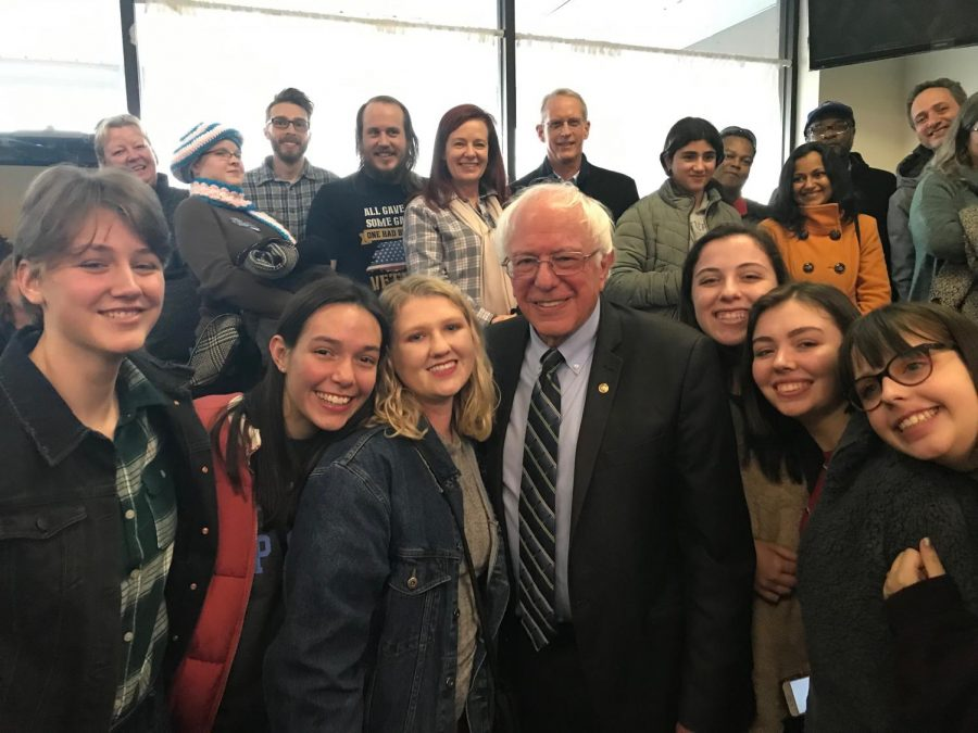 Columbia Feels The Bern