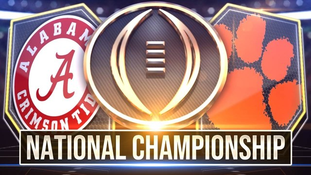 Clemson VS Alabama! The Fans Speak!