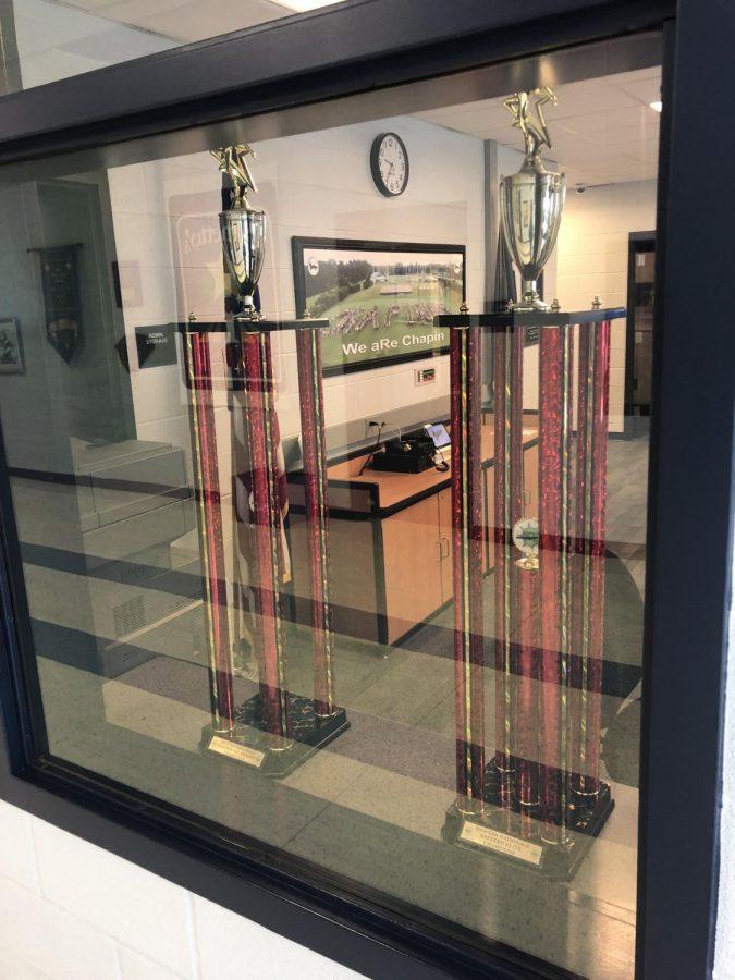 Chapin dance trophy