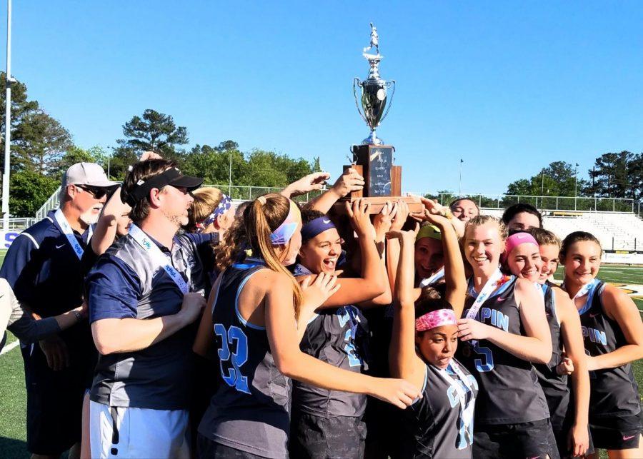 Chapin Girls Lacrosse wins 5A Championship Undefeated Season