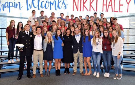 Nikki Haley's Speaks to Chapin High School Students and Staff