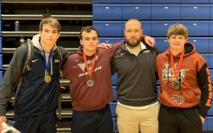 Shawn Haile, Hunter Dixon, Coach Flinchum, Josh Green