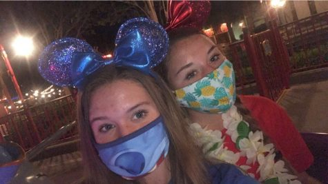 Ella Meyers and Tatum Meyers visit  Walt DisneyWorld during the Covid-19 Pandemic
