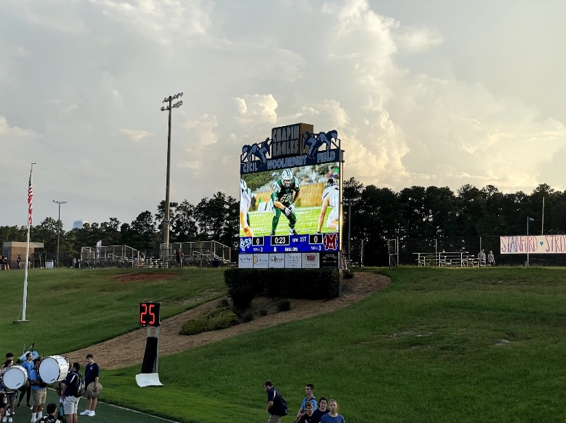 Chapin High School honors Jack Alkhatib with a 60 second moment of silence for number 60 on the Dutch Fork Football team.